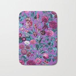 Romantic Floral Pattern Bath Mat