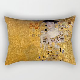THE LADY IN GOLD - GUSTAV KLIMT Rectangular Pillow