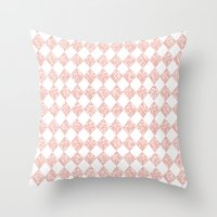 pixel Throw Pillows featuring Pixel by Tayler Willcox