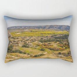 Badlands, Theodore Roosevelt NP, ND 4 Rectangular Pillow