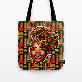 Ashanti Queen Tote Bag