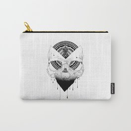 Enigmatic Skull Carry-All Pouch