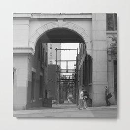 Archway Metal Print