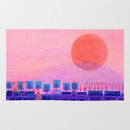 Sunset over Sienna Rug
