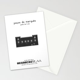 HexArchi - Portugal, Ponte de Lima, Paços do Marquês Stationery Cards