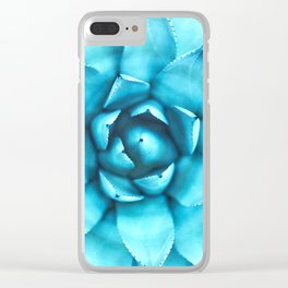 Succulent Succulent Clear iPhone Case