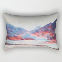Fall Mountains Rectangular Pillow