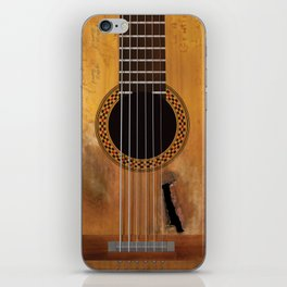 Willie Nelson's Trigger Guitar iPhone Skin