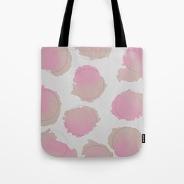 Paint and Dots Tote Bag