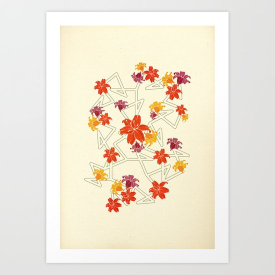 A complicated apology Art Print
