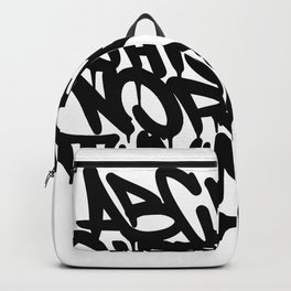 Alphabet Backpack