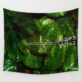 Leaves V4 Wall Tapestry