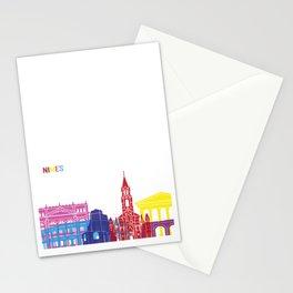 Nimes skyline pop Stationery Cards