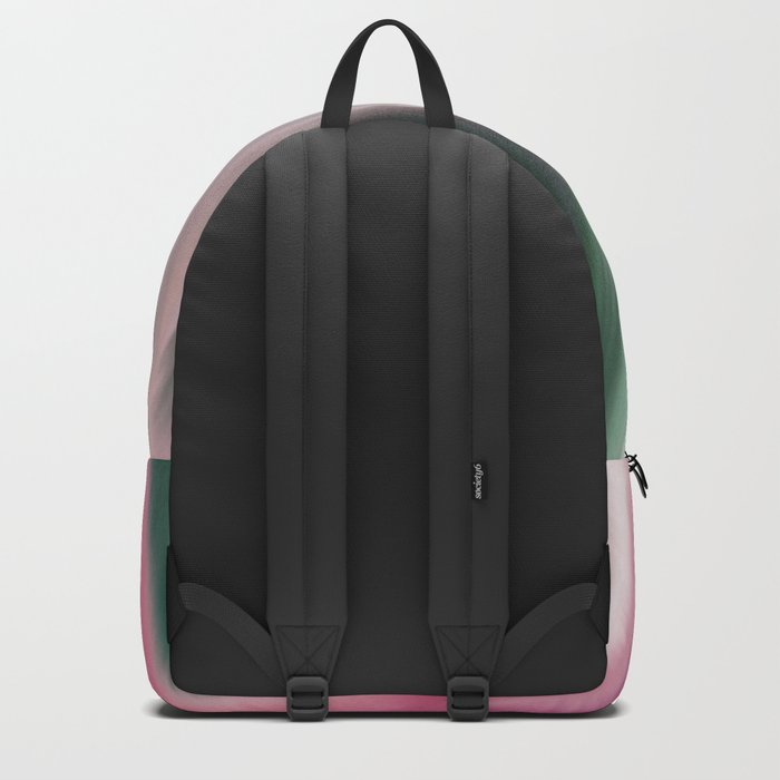 Modern abstract background or texture with flowing wavy lines Backpack