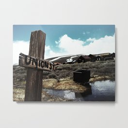 C'era una volta il West (Once upon a time in the West) Metal Print