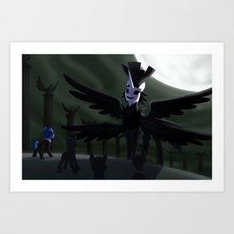 Versus Nyx Avatar Art Print