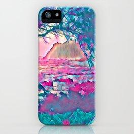 Fantasy Islands 2 iPhone Case