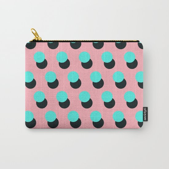 Memphis pattern 14 Carry-All Pouch