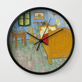 Vincent van Gogh - The Bedroom in Arles Wall Clock
