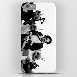 Horror IPhone Cases Society - Teletubbies in black and white is terrifying