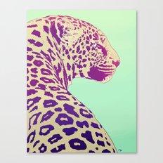 Leopard under the Sun Canvas Print