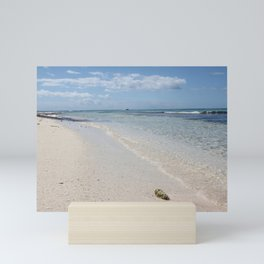 Caribbean Paradise Beach Mini Art Print