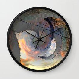 Deflector Wall Clock