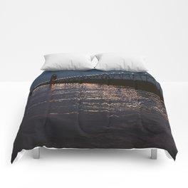 Pier Nights Comforters