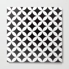 Shippo (cloisonne)Geometric Pattern Metal Print