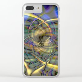 Pinwheel Clear iPhone Case