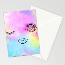 Sparkle Wink Stationery Cards