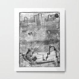when things fell apart - iii Metal Print