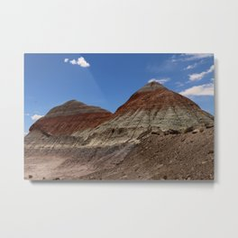 The Tepees Metal Print