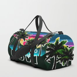 USVI sunset Duffle Bag