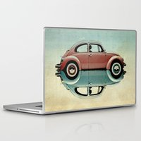 bug Laptop & iPad Skins featuring love bug by Vin Zzep