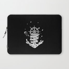 Master of my fate, captain of my soul Laptop Sleeve
