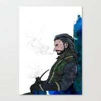 thorin Canvas Prints featuring Thorin by NON6