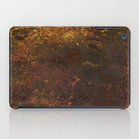 middle earth iPad Cases featuring Middle Earth, Abstract Nature Rustic Grunge Art by Itaya Art
