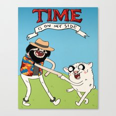 (Adventure) Time Is On My Side Canvas Print