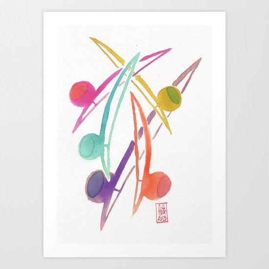 Capoeira 254 Art Print