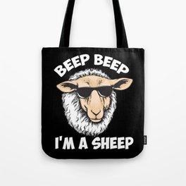 Beep Beep I'm A Sheep Tote Bag