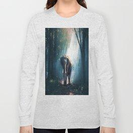 Walking with Elephant Long Sleeve T-shirt