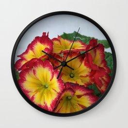 English Primrose 2 Wall Clock