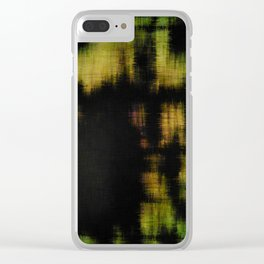 Marsh at Night Clear iPhone Case