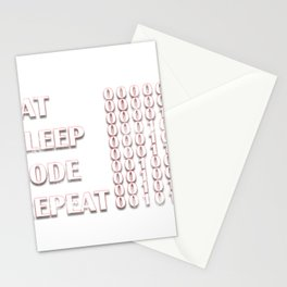 Computer Programmer Stationery Cards