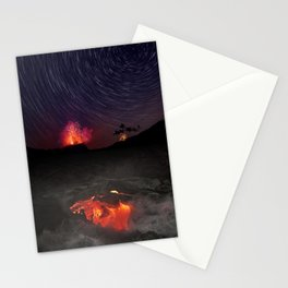 Kilauea Volcano Eruption .4 Stationery Cards