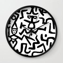 Comedians Wall Clock