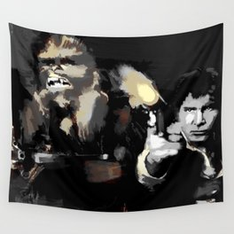 Han Solo & Chewbacca Wall Tapestry