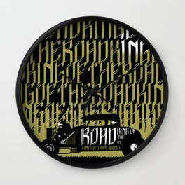 Signs of Faith - King of the Road Wall Clock