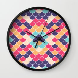 Lovely Pattern VVXVV Wall Clock